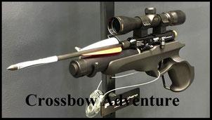 Pfeilschußpistole von  FX Airguns: FX Ranchero Arrow von FX Airguns bei Crossbow Adventure
