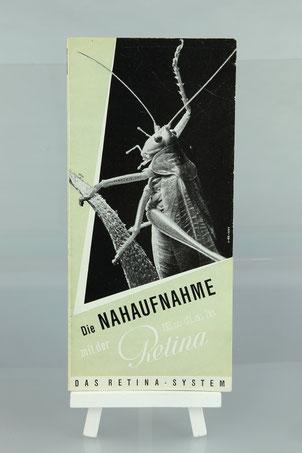 KODAK Retina Anleitung Nahaufnahme     ©  engel-art.ch