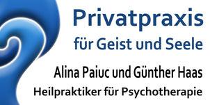 Alina Paiuc & Günther Haas - Heilpraktiker für Psychotherapie