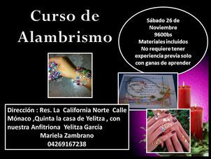 Curso de Alambrismo - Creaciones Lenismar