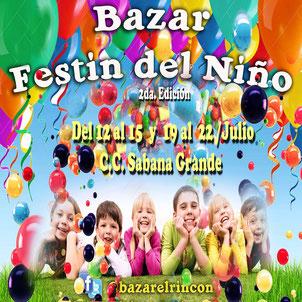 Bazar El Rincón - Festín del Niño, 2da Edición