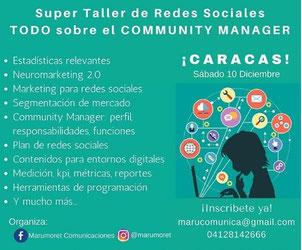 Super Taller de Redes Sociales - Marumoret Comunicaciones