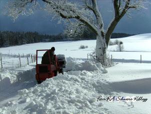 So könnte es bei Schnee aussehen