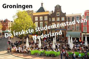 Groningen is volgens studenten de leukste studentenstad in Nederland!