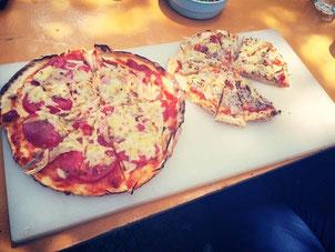 ピザ、おいしかった!