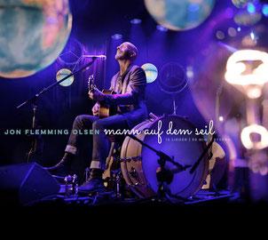 """Das aktuelle Album von Jon Flemming Olsen """"Der Mann auf dem Seil"""""""
