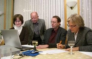 Bei der Vereinsgründung am 1. Dezember 2007