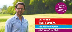 Die Webseite unseres Bürgermeisters Dr. Philipp Rottwilm
