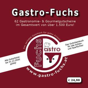 Titelseite Gastro-Fuchs Gutscheinbuch