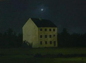 "Martin Guido Becker, ""Verlassenes Haus"", 2016, 30/40 cm"