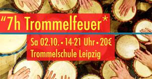 7h Trommelfeuer • Workshop 2.10.2021 • Trommelschule Yngo Gutmann