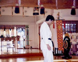 2003.01.01 神社にて奉納演武