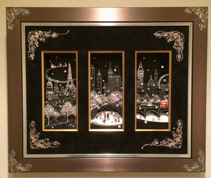 『snowy twinkle』2016年ユザワヤ芸術学院作品展・金賞