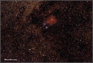 IC 1284, IC 1283, Sh-2 37, VdB 118, NGC6590