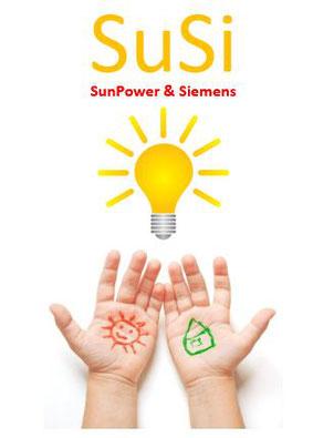 SuSi - SunPower-Solar & Siemens mit bester Qualitaet