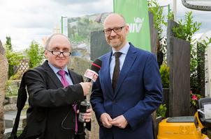 Dr. Peter Tauber im FRANKFURT JOURNAL INTERVIEW © dokfoto.de/Friedhelm Herr