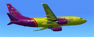 B737-700 EC-BDF