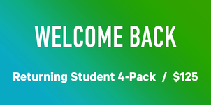Returning Student Special