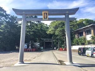 宮城県ステンレス鳥居第一号・檜和田八幡神社