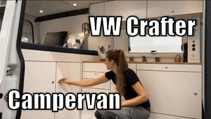 VW Crafter Ausbauvideo