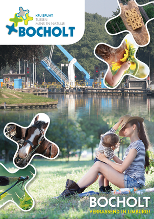 Dirk Van Bun Communicatie & Vormgeving - Grafische Vormgeving - Ontwerp - Reclame - Publiciteit - Brochure Toerisme bocholt