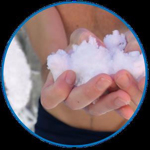 finest powder snow with POWDERstream®