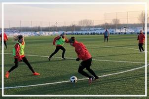 Frauenfußball SLZ St.Pölten
