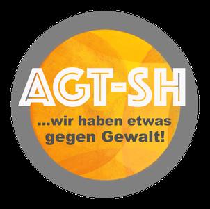 AGT-SH; Anti gewalt, wir haben etwas gegen Gewalt!, AGT LOGO, AGT Kurse 2021