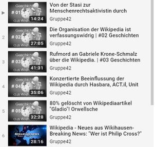 Gruppe42 - Geschichten aus Wikihausen