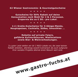 Rückseite Gastro-Fuchs Gutscheinbuch