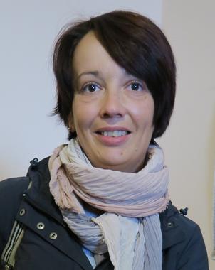 Nataliya Kabatsiy ist Direktorin von CAMZ und Mutter einer Tochter