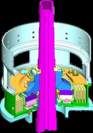 Turbine Kaplan - Optimisation pivoterie - ingénierie mécanique Solucad