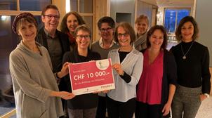 Frauennetz.Meggen spendet dem Hospiz Zentralschweiz 10'000 Franken für die Erfüllung letzter Wünsche