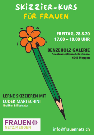 Skizzieren mit Ludek Martschini, Luzern
