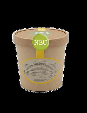 Pro-5 ist eine Mischung aus fermentierten Kräutern, probiotischen Kulturen, Ballaststoffen und Darmflora-Stabilisatoren, die zur Unterstützung einer normalen Magen-Darm-Funktion gefüttert wird.