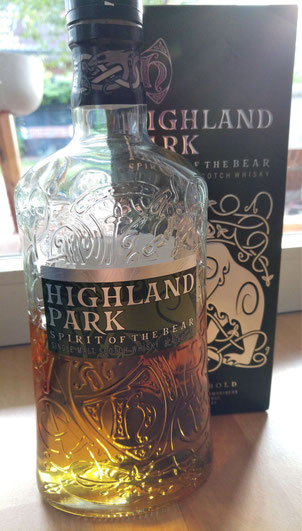 Highland Park Spirit of the Bear Flasche & Umverpackung