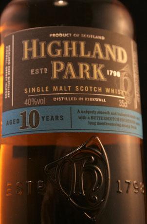 Highland Park 10 Jahre Flasche