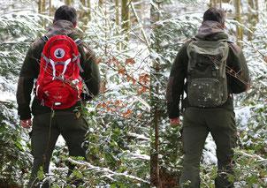 Sichtbar für andere Jäger und damit sicher auf der Nachsuche