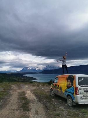 Torres del Paine, Campen, Patagonien, Wickedcamper