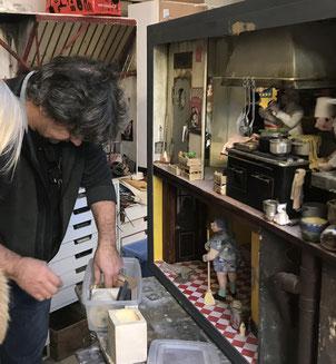 Christian Paix sculpteur modeleur galerie Espace Pralong