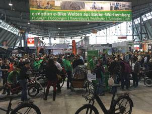 CMT 2020; e-Bike Welten; Stuttgart