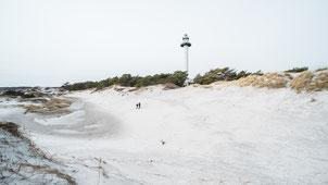 Der Strand von Dueodde auf Bornholm im Winter. Copyright: Destination Bornholm_Foto Stefan  Asp