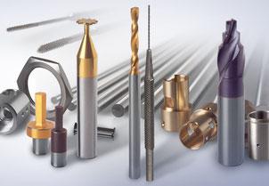 Zerspanungswerkzeuge, VHM-Bohrer, VHM-Fräser, Schlitzfräser,