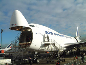 Air France Cargo operates two 747-400ERF to transport a wide range of products / source: hs