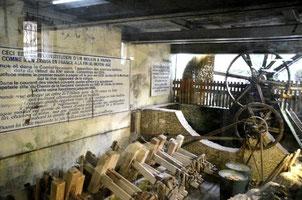 Fontaine-de Vaucluse  - création 15ème- abandon fin des années 60 - réouvert 1973 (projet touristique)