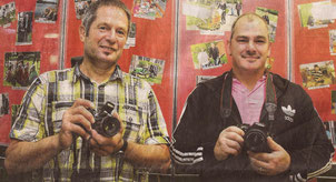 Ulrich Schmidt und Sandro Grupe haben die Aufnahmen gemacht
