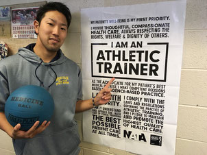 the road to be an athletic trainer アメリカ カリフォルニア留学
