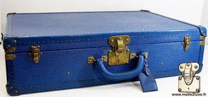 Valise bisten louis vuitton epi bleu