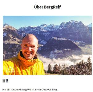 Alex betreibt den Blog BERGREIF.DE