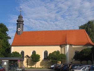 Foto: Ein barockes Kleinod  - die St. Anna Kirche in der Nürnberger Straße (Angelika Zwengauer)